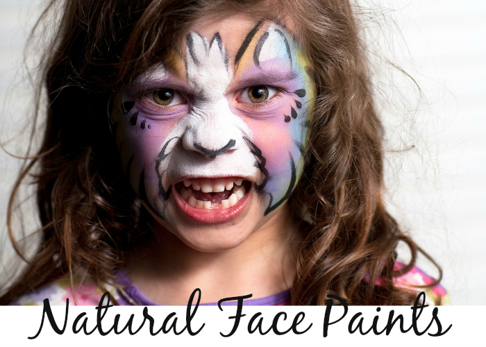 Natural Face Paints - free of parabens, lead, artificial colors and all the other junk