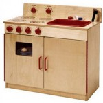 Wooden Kitchen Playsets - Mommy Goes Green