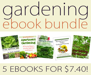 5 gardening themed ebooks for $7.40
