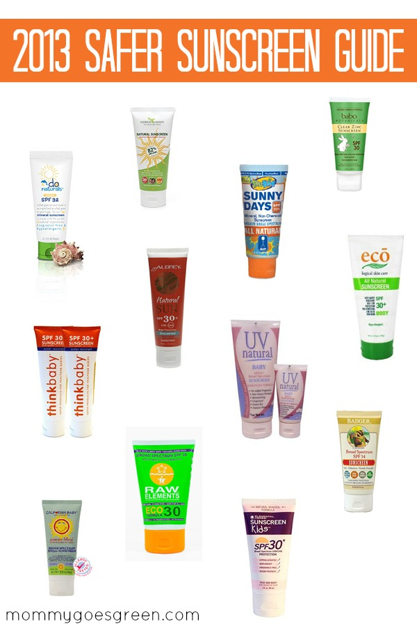 2013 Safer Sunscreen Guide