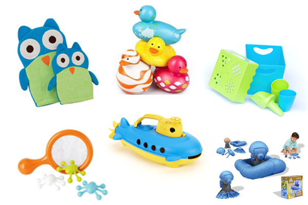 2014 Favorite Safe Bath Toys