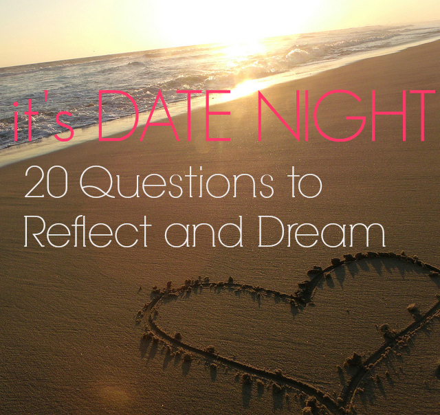 Love these ideas for our next date night!