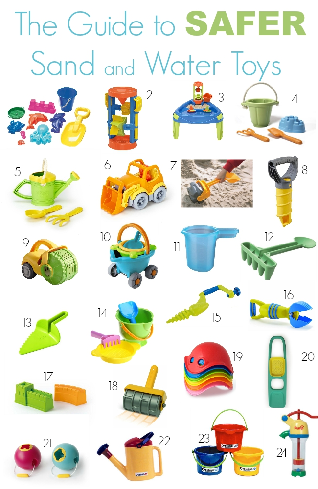 The Guide to Safer Sand and Water Toys